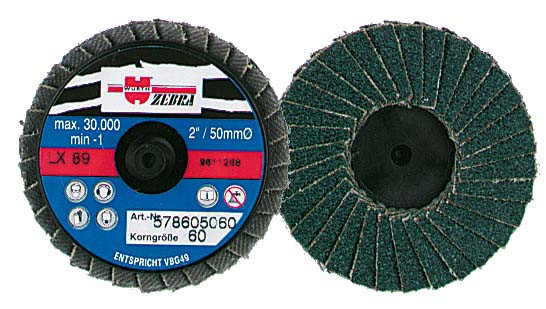 ZEBRA MINI-DISC D:50MM P60