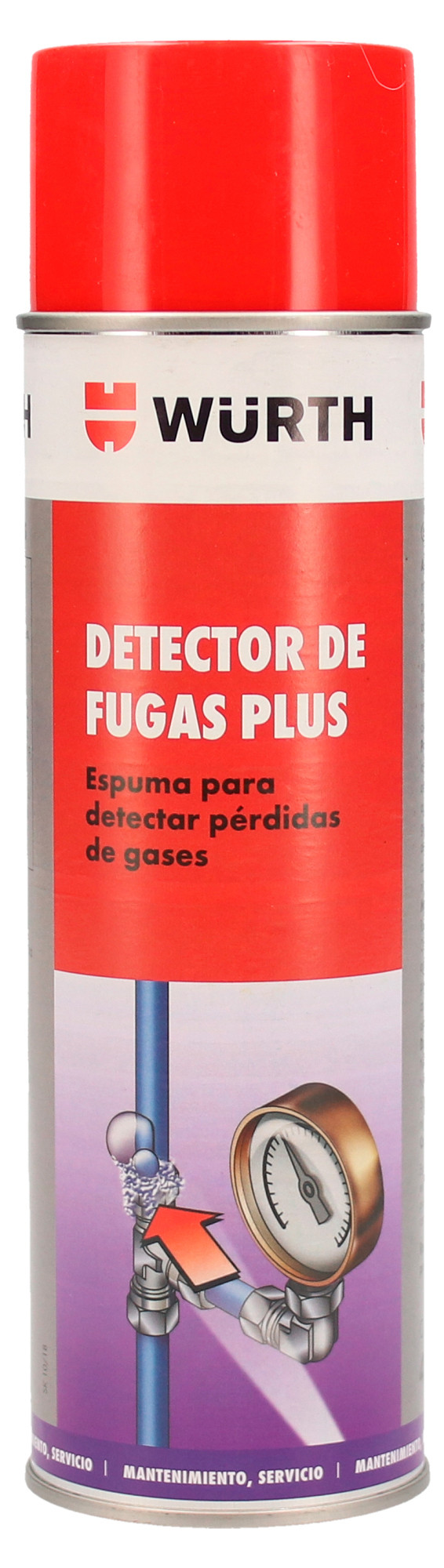DETECTOR FUGAS PLUS, 400 ML