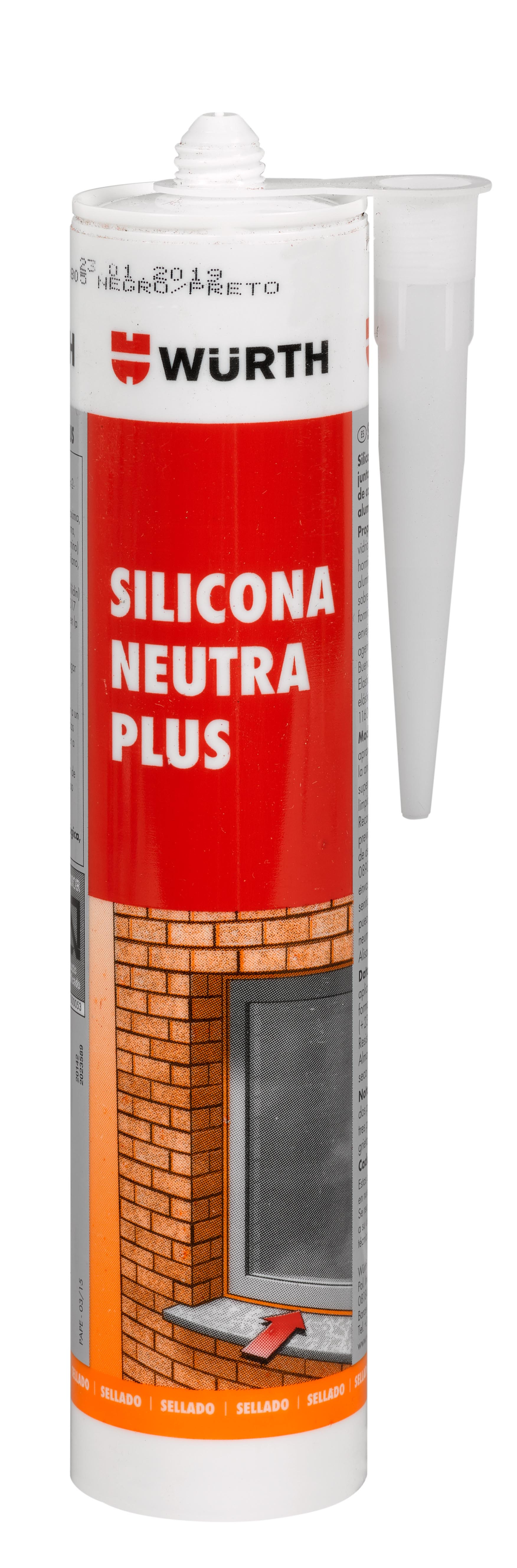 SILICONA NEUTRA PLUS GRISRAL7016 310ML