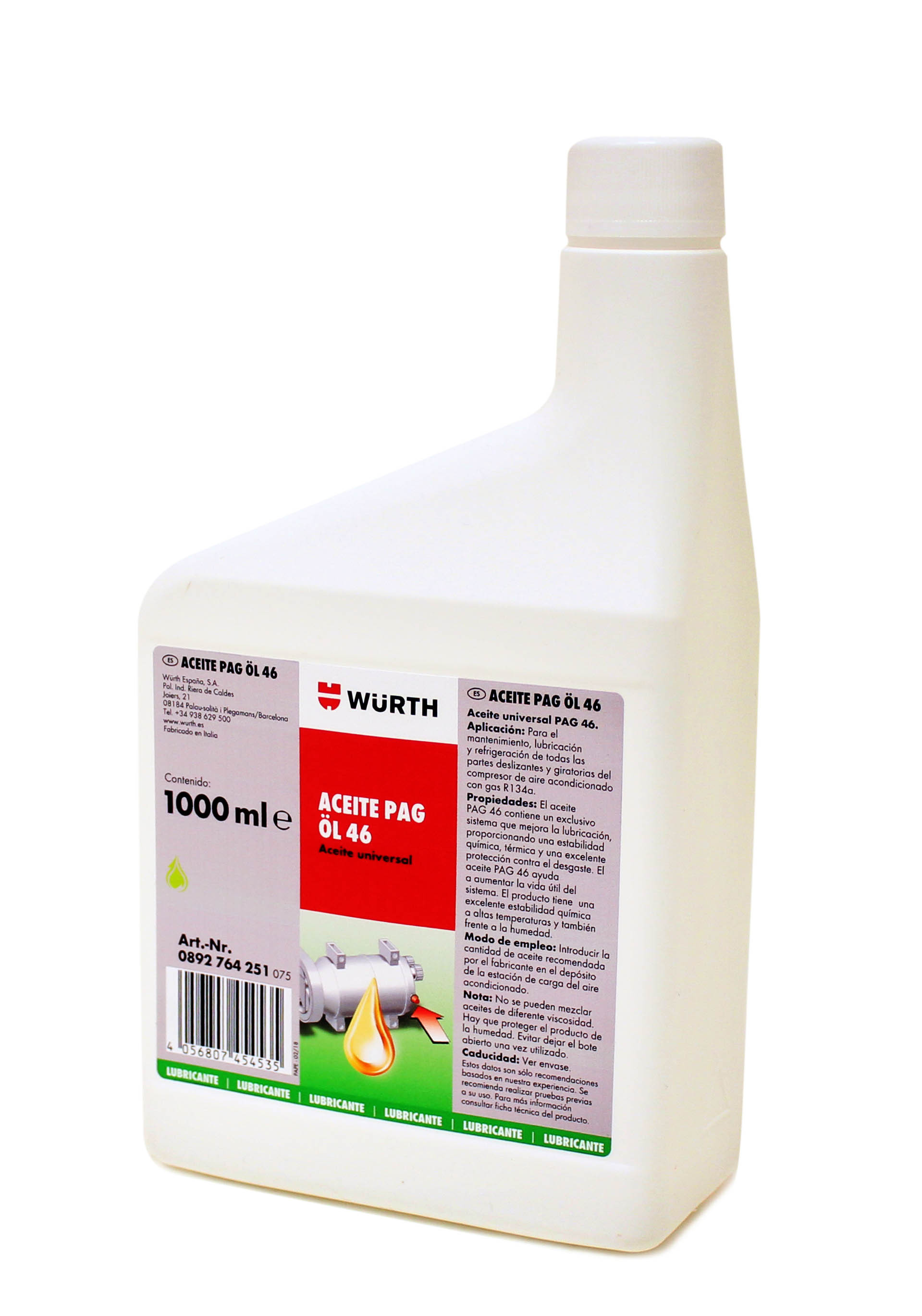 ACEITE PAG L 46, 250 ML.
