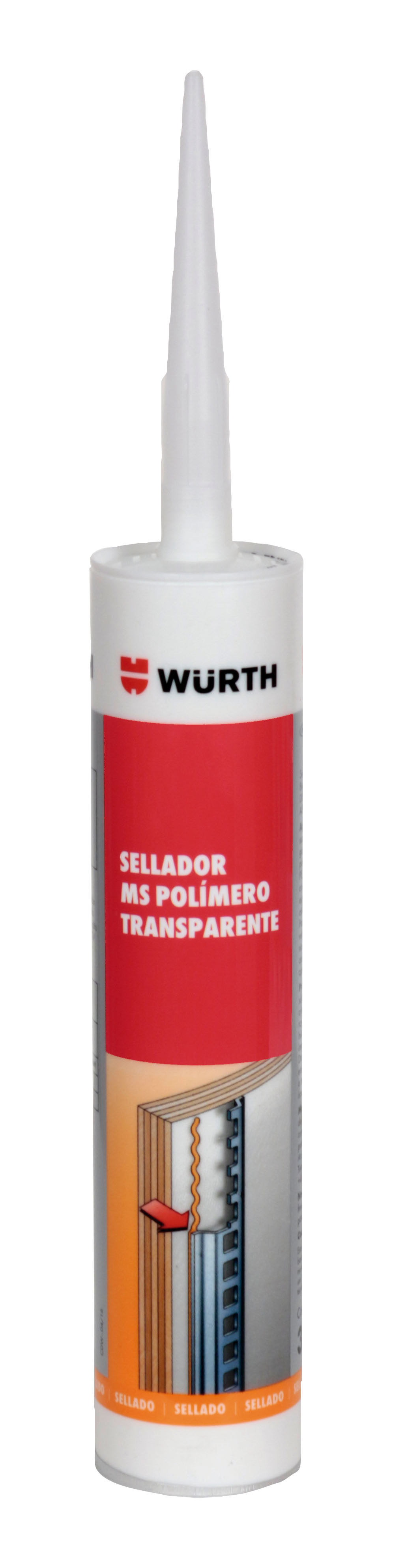 SELLADOR MS POLÍMERO TRANSPARENTE 310ML