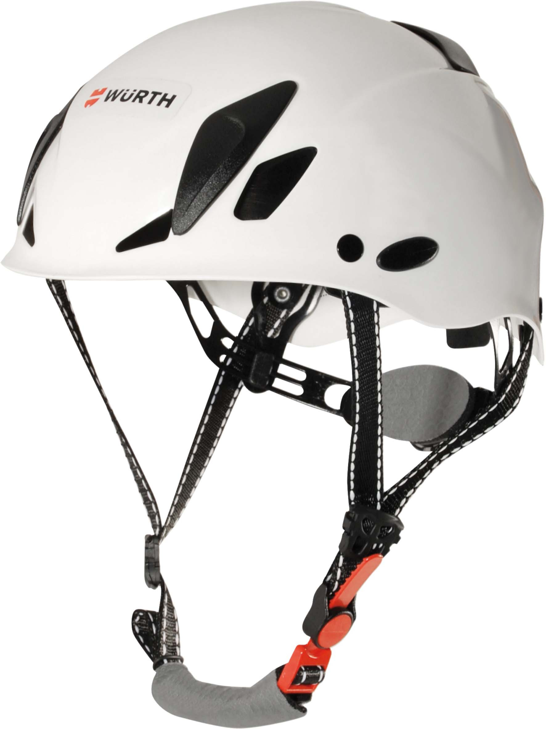 CASCO WÜRTH CON BARBOQUEJO EN397 BLANCO