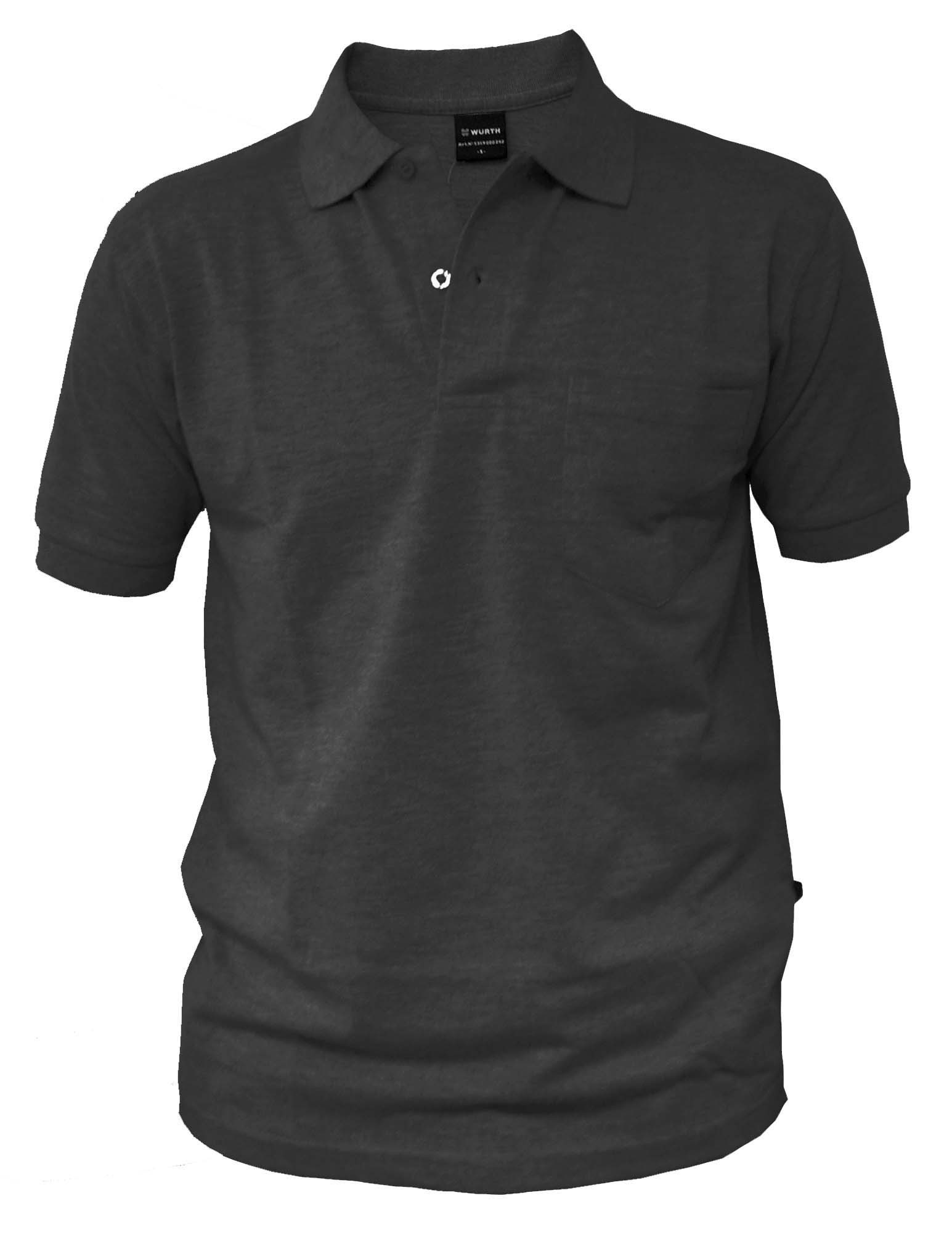 \WRKSHIRT-SHRTSLEV-POCKET-BLACK-XXL