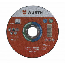 DISCO DE CORTE WURTH SLIM D:115x1,6