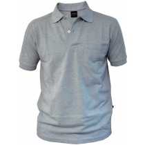 POLO CON BOLSILLO WÜRTH GRIS CLARO T:XL