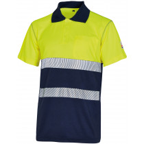 MU-POLO MC A.V. COOLDRY AMARILLO MARINO