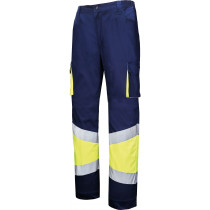 MU-PANTALON A.V. STRETCH AMARILLO MARINO